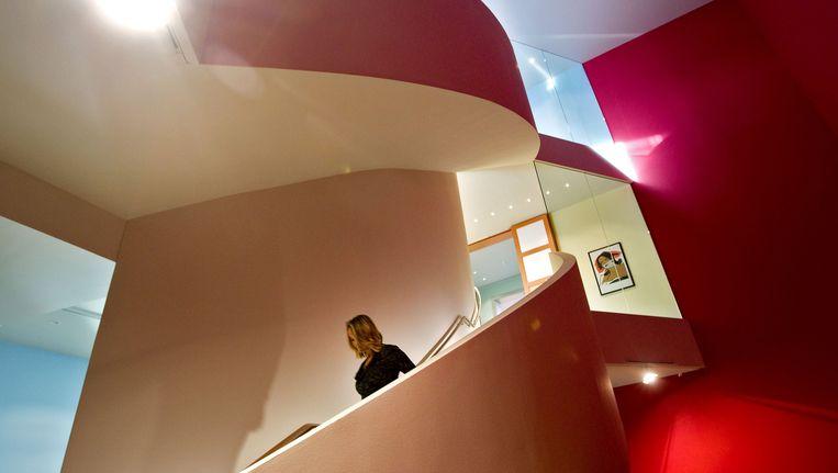 Impressie van de openingsexpositie in het Groninger Museum afgelopen december. Beeld ANP