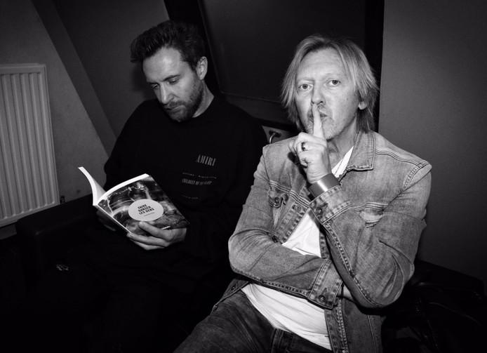 Fred Rister (à droite) et David Guetta.