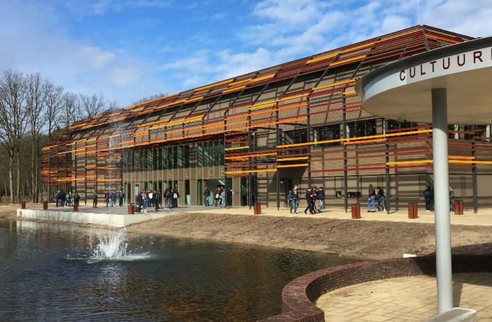 Het nieuwe gebouw van het Reviuscollege in Doorn.