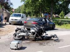 Motorrijder gewond bij ongeval Wanroij
