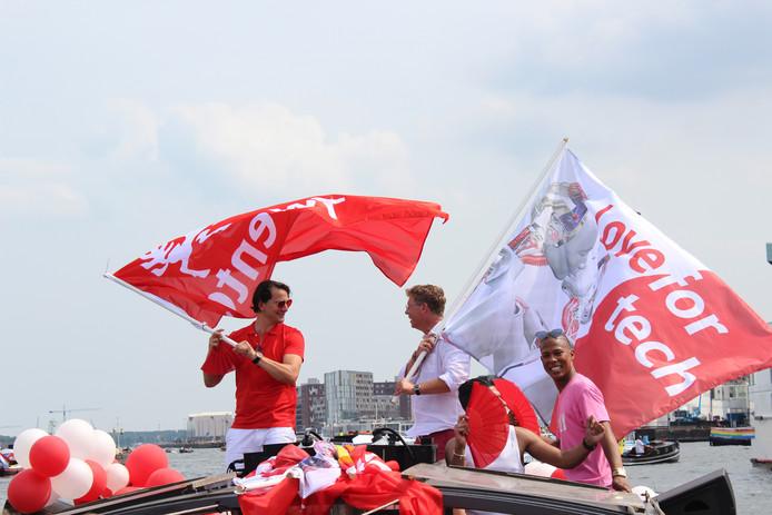 Liefde voor Twente en voor (tech) onderwijs. Krijn Lock en Marco Strijks (Saxion) op de boeg.