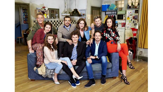 De cast van Nieuwe Tijden.