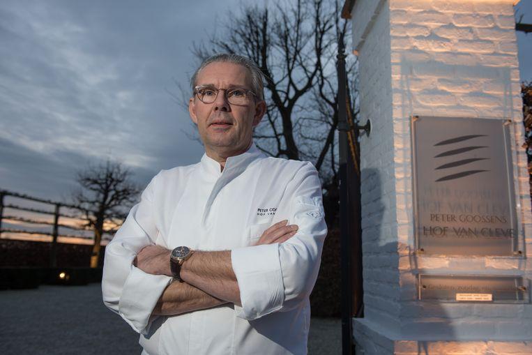 Peter Goossens, chef van het sterrenrestaurant Hof van Cleve.