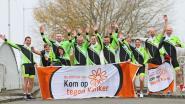 Hope4More neemt met zes teams deel aan 1.000 kilometer voor Kom op tegen Kanker