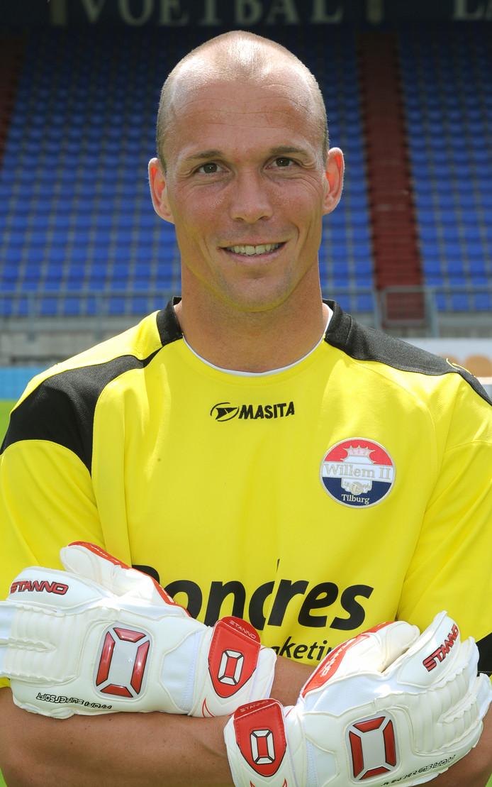 Harmen Kuperus, negen jaar geleden bij Willem II.