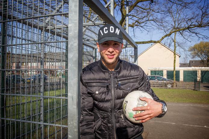 Mohamed Rayhi van NEC in zijn stad Eindhoven.