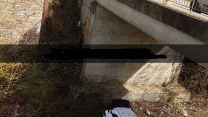 Oeps, stuurfoutje Neuville ontsnapt na crash van brug