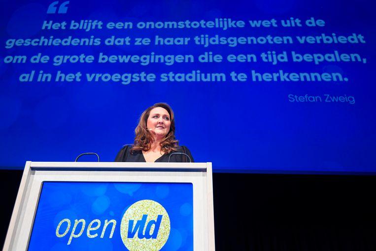 Eind maart moet bekend zijn wie de opvolger van Open Vld-voorzitter Gwendolyn Rutten wordt.