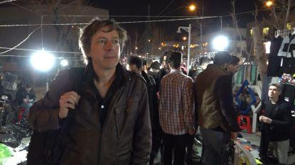 VTM NIEUWS-journalist Robin Ramaekers op pad in de Iraanse undergroundscene