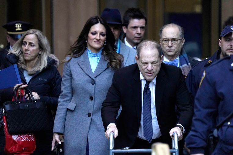 Donna Rotunno: 'Harvey Weinstein was de man met de sleutels van het paleis waar iedereen naar binnen wilde. En wat mensen deden, was hem gebruiken, en gebruiken, en gebruiken.' Beeld Getty Images
