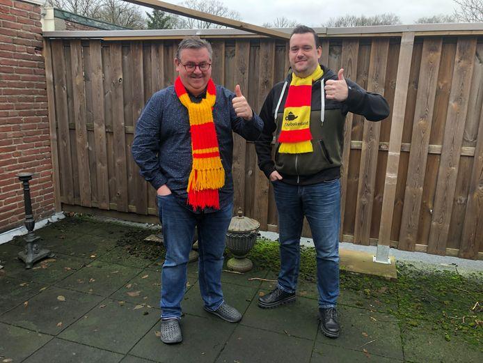 Maikel van der Velden en Maikel van den Hooven van Filoz Events organiseren familiecarnaval in De Wetering.