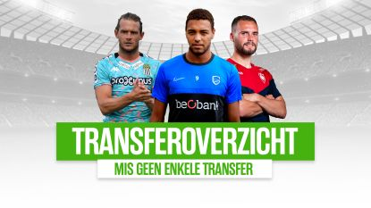 OVERZICHT. Alle inkomende en uitgaande zomertransfers in de Jupiler Pro League