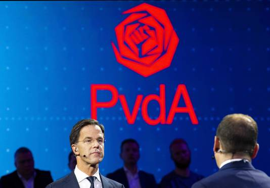 Mark Rutte (VVD) en Lodewijk Asscher (PvdA)