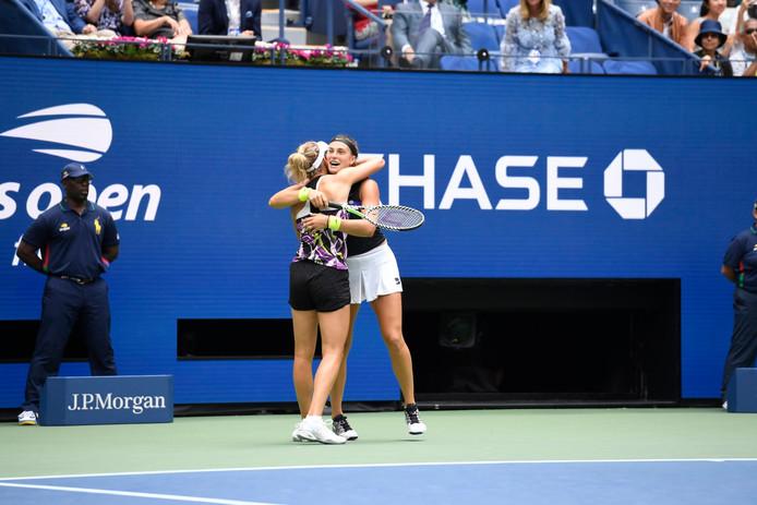 Mertens-Sabalenka, deuxième paire qualifiée pour le Masters de fin d'année.
