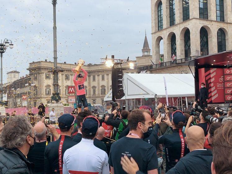 Dit was de ontknoping van de Giro d'Italia