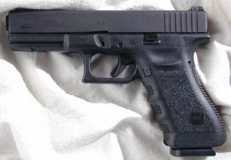 Een Glock 17-pistool
