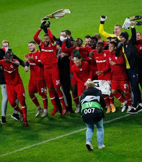 Nouvelle victoire et qualification en poche: le rêve européen de l'Antwerp continue