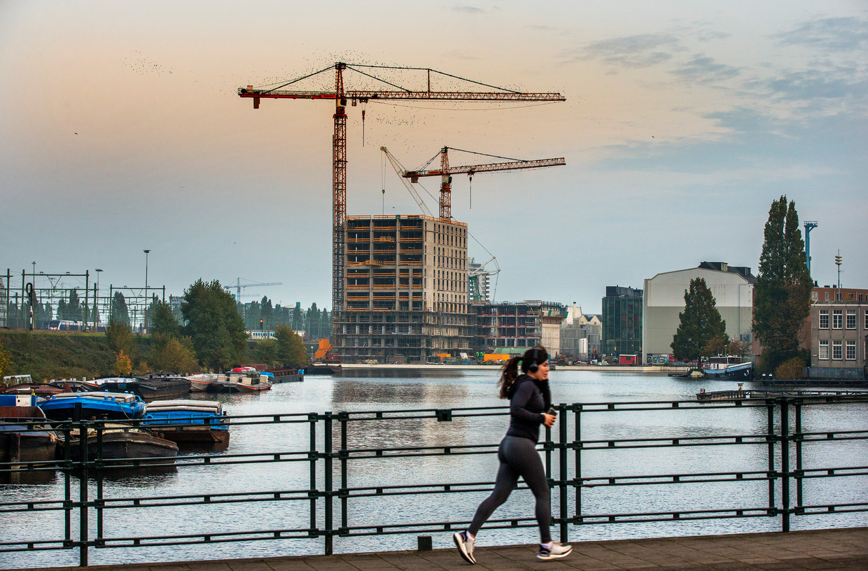 Nu zwaaien er nog bouwkranen, maar dat kan snel voorbij zijn.