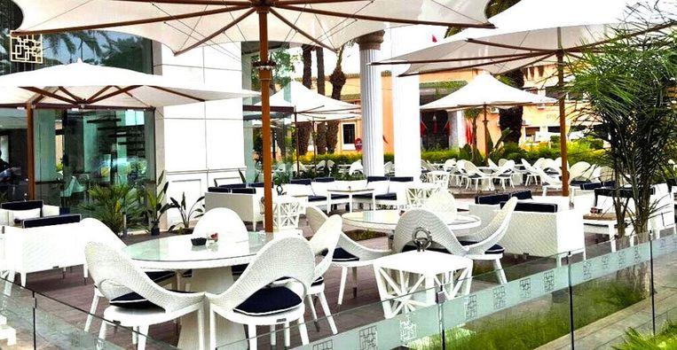Het terras van Café La Creme in Marrakech. Beeld Tripadvisor