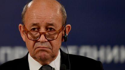 """Frankrijk: """"Bij nieuwe chemische aanval zal het antwoord identiek zijn"""""""