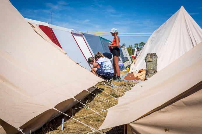 Campings verwachten topdrukte met Pasen.
