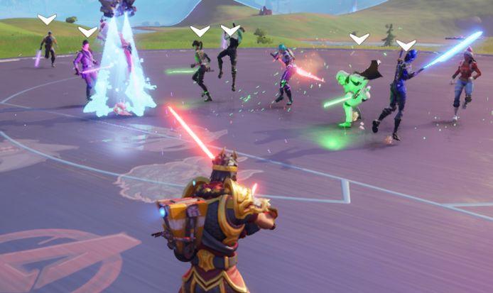 De lightsabers zijn tijdelijk terug in Fortnite. De bekende lichtzwaarden uit Star Wars maken een korte comeback in de game ter ere van Star Wars Day.