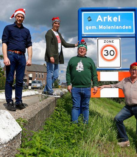 Arkel heeft nu al grootse plannen voor kerst: 'Het hele dorp verlichten'