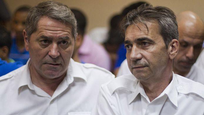 Bruno Odos et Pascal Fauret, les deux pilotes mis en cause dans l'affaire Air cocaïne