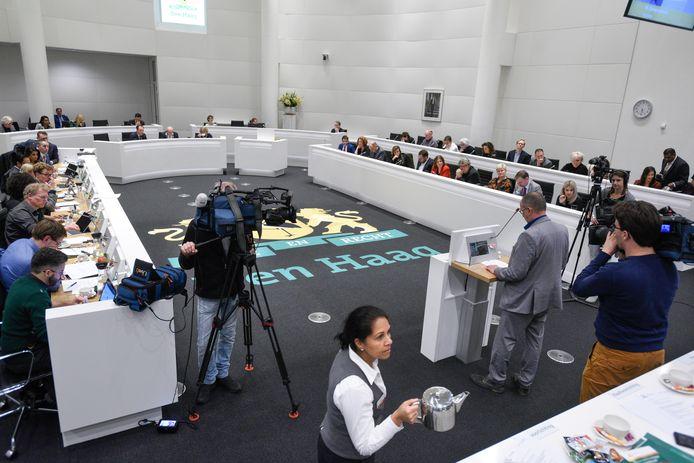 De Haagse gemeenteraad, ter illustratie.