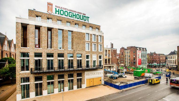 Het gebouw van studentenvereniging Vindicat aan de Grote Markt in Groningen. Beeld anp