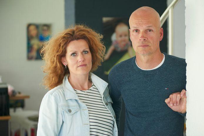 Erik en Monique Derijks uit Heesch verloren hun dochtertje en haar grootouders bij de dodelijke aanrijding.