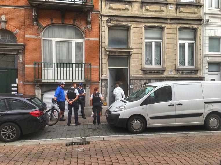 De feiten vonden begin oktober plaats in een appartement langs de Jules Peurquaetstraat.