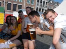 Studenten houden het netjes bij biercantus SLOK: geen bacchanaal