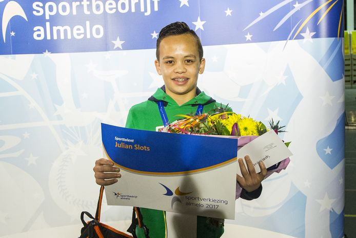Julian Slots is sporttalent van 2017.