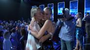 Eva Pauwels supportert voor dochter Julie in 'Dancing With The Stars'