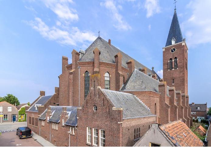 De Sint-Petrus en Pauluskerk in Dinteloord.