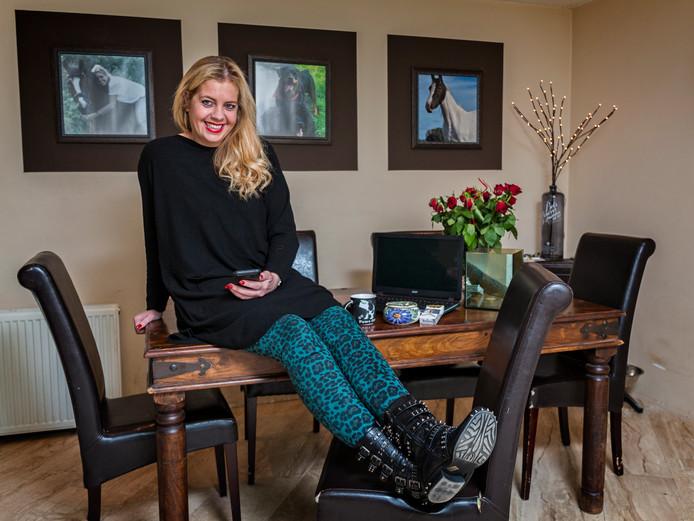 Saskia Jansen: ,,Als ik in bed lig, gaan de raderen draaien. De nacht heeft iets magisch.''