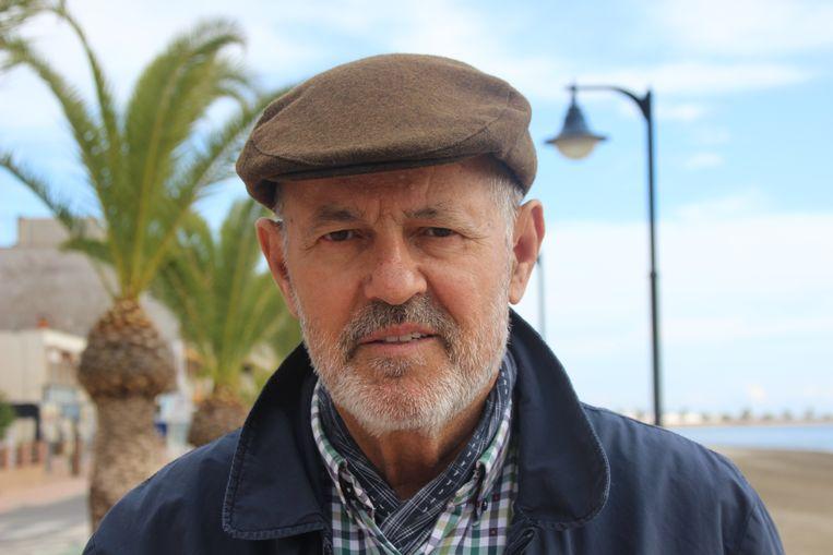 Jesús Gómez, visser Beeld Maartje Bakker