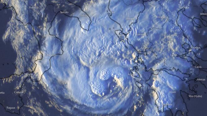 """Orkaan treft eilanden in westen van Griekenland: """"Dit zal waarschijnlijk vaker voorkomen"""""""