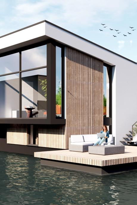 Omstreden drijvende villa's bij Lentse Plas komen er toch