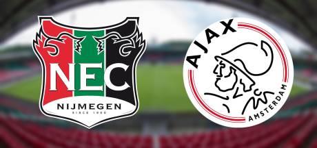 LIVE | Kan NEC stunten tegen koploper Jong Ajax?