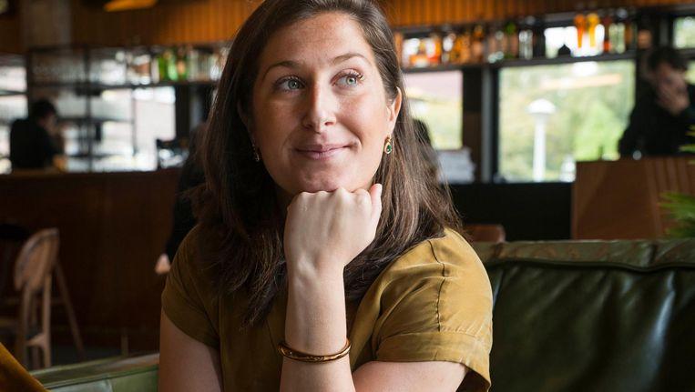 'Uit de grachtengordel komen ze in Buitenveldert boodschappen doen' Beeld Charlotte Odijk