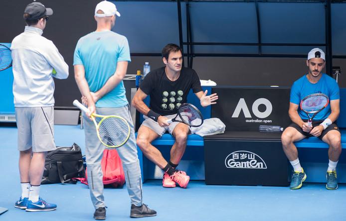 Roger Federer .