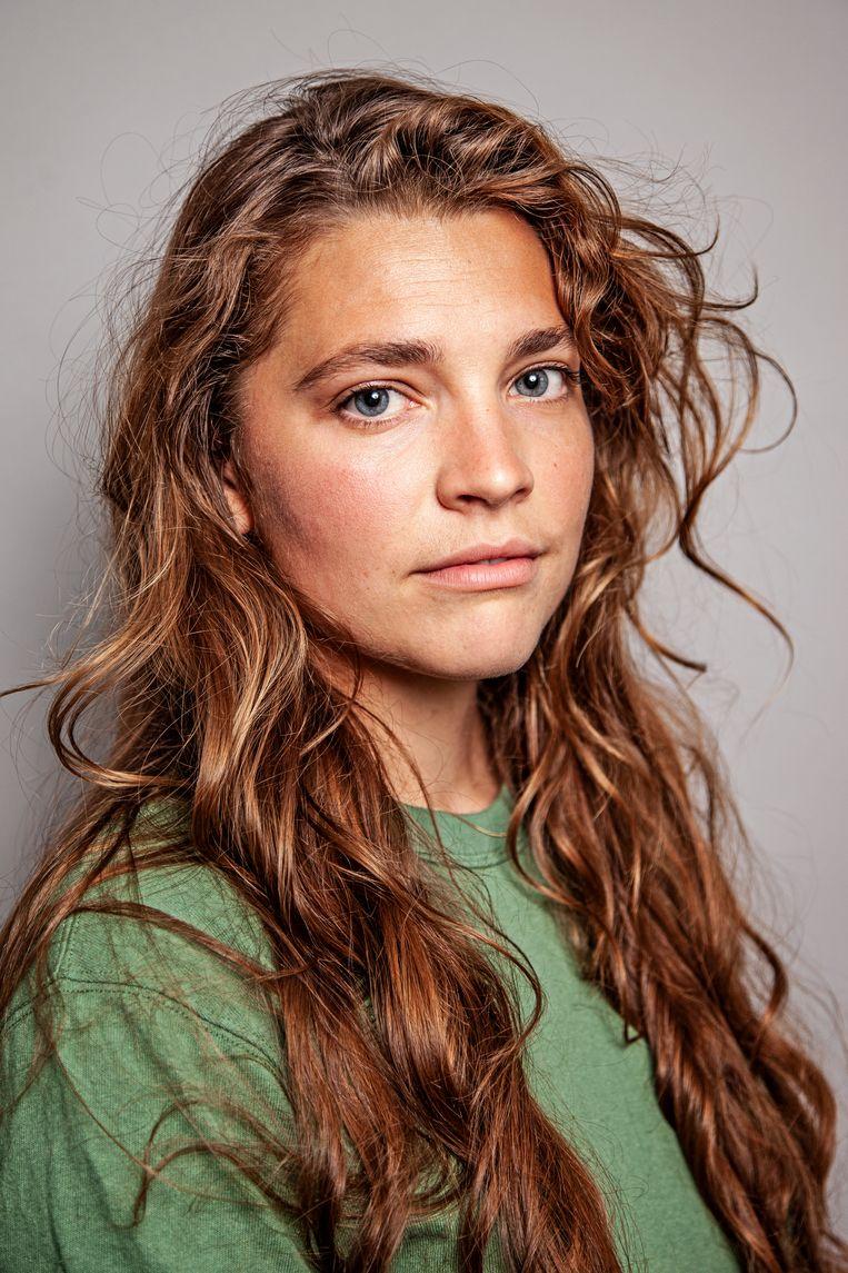 Emma Waslander: 'Dit is een statement voor een probleem dat groter is dan ikzelf.' Beeld Ernst Coppejans