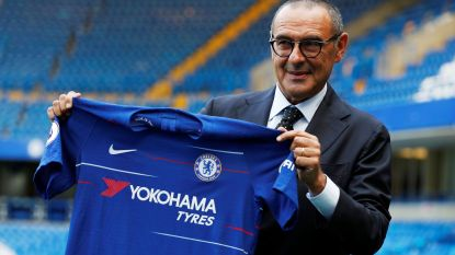 """Nieuwe Chelsea-coach Sarri is """"niet geïnteresseerd in transfermarkt"""" en """"wil plezier maken met Hazard"""""""