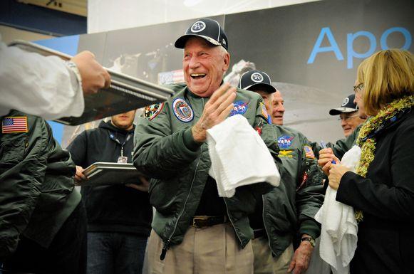 Apollo 15 astronaut Al Worden in 2014.