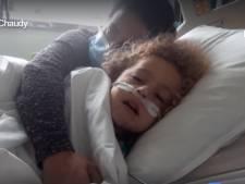 Kaïs, 4 ans, patient Covid à l'UZ Brussel, souffre d'une forme rare de complications: le cri d'alarme de son père