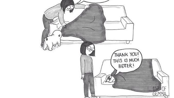 Deze cartoons vatten het leven met een hond perfect samen