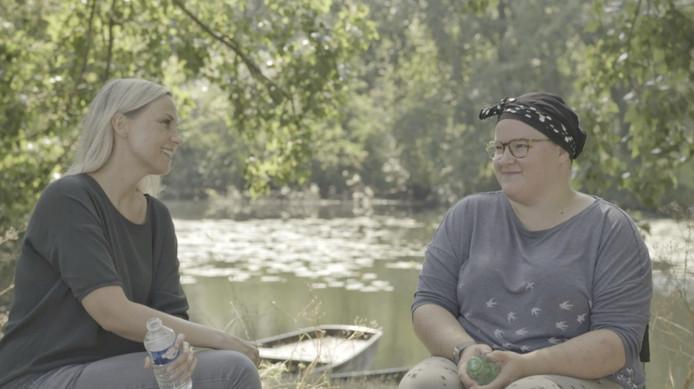 Jessica Villerius en Veda in de documentaire Veda Beslist Zelf.