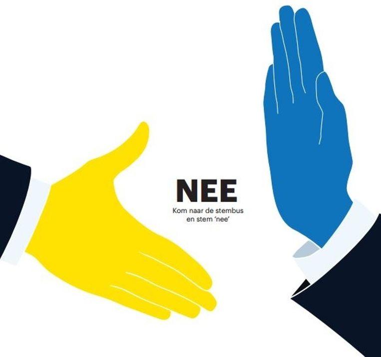 Optie voor de nee-stemmer. Beeld Trouw